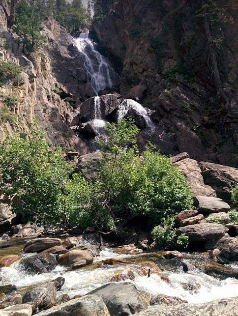 Visit Colorado Spring Waterfall