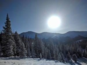 Visit Colorado Winter Sunny Day Ski Slopes