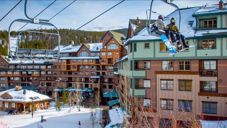 Zephyr Mountain Lodge Chair Lift