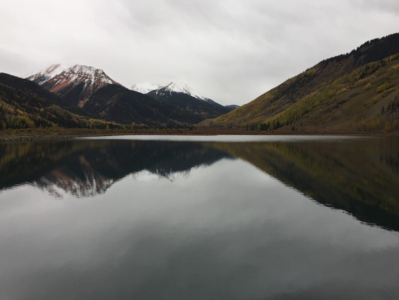Million Dollar Highway Alpine Lake