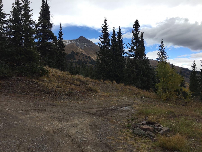 Million Dollar Highway Silverton Dispersed Camping
