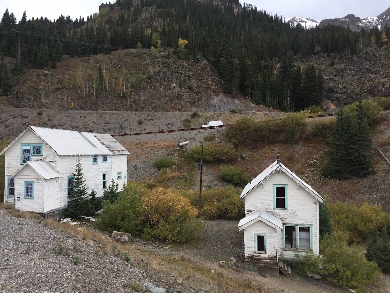 Million Dollar Highway Molas Pass Ghost Town