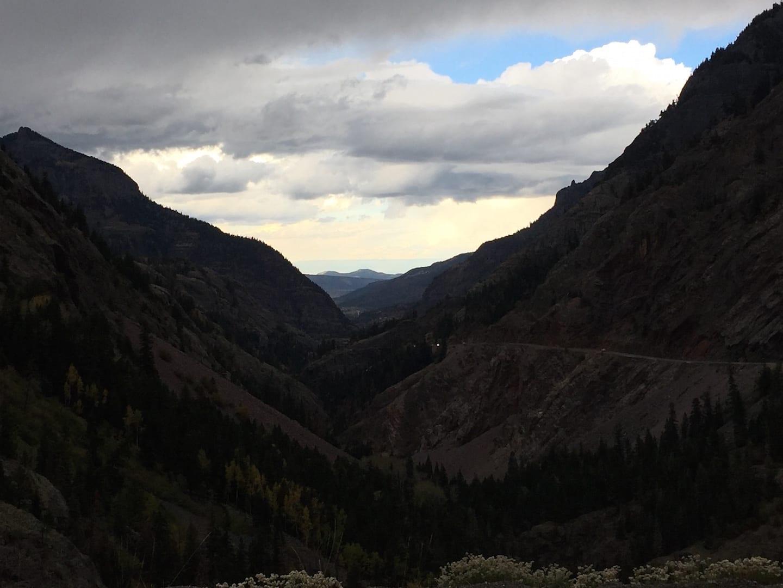 Million Dollar Highway Ouray Colorado