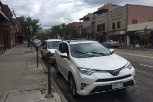 Million Dollar Highway Downtown Durango Toyota Rav4