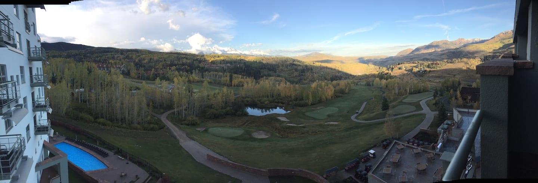 Peak Resort Telluride Balcony Panorama