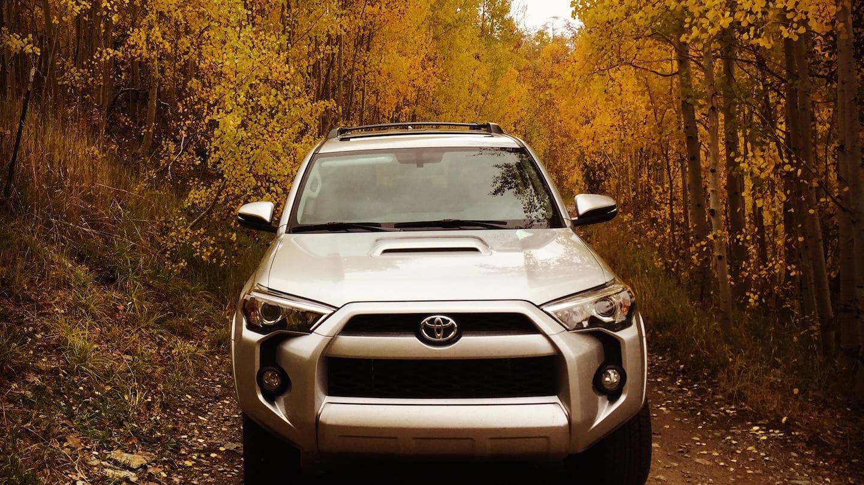 Fall Colors Million Dollar Highway Toyota 4Runner