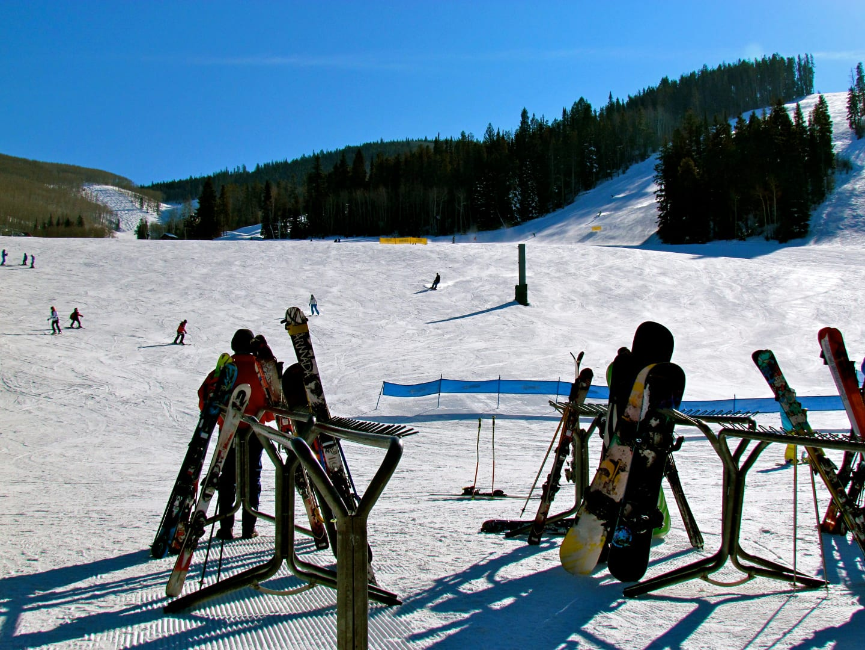 Beaver Creek Ski Resort Base Area Slopes
