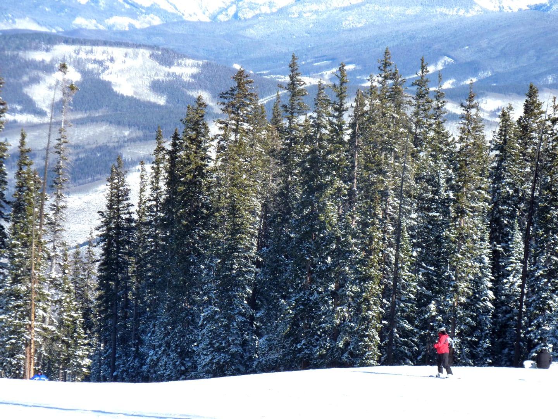 Beaver Creek Ski Resort Mountain Aerial
