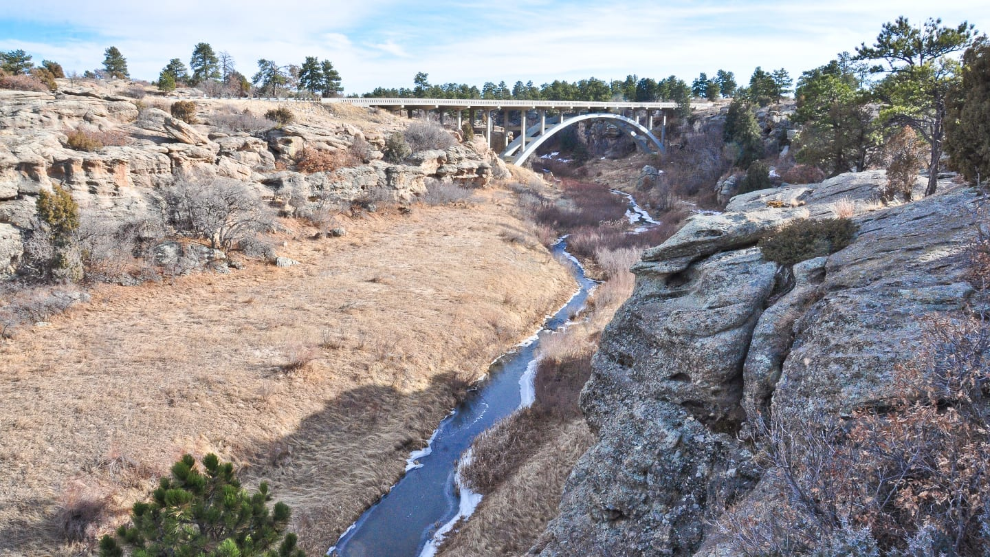 Best Rock Climbing Castlewood Canyon Park Bridge Cherry Creek