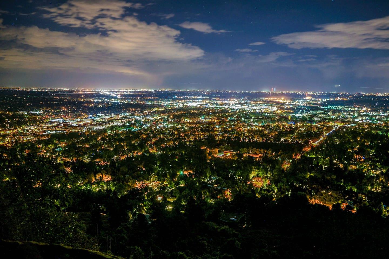 Boulder Date Idea Panorama Point Overlook Night