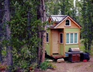 Tiny House Built Colorado Wilderness Fairplay