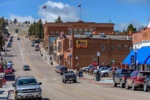 Historic Downtown Cripple Creek Main Street
