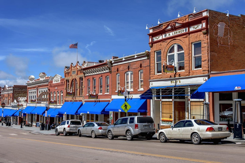 Pusat Kota Bersejarah Cripple Creek Bronco Billy