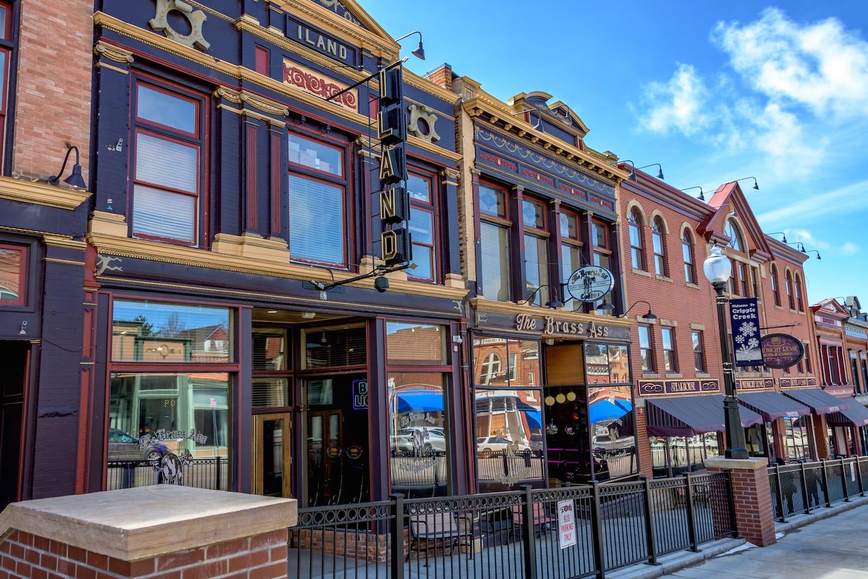 Pusat Kota Bersejarah Cripple Creek Brass Ass Casino