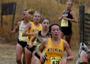 College Student Athletes Cross Country Racers CU Campus