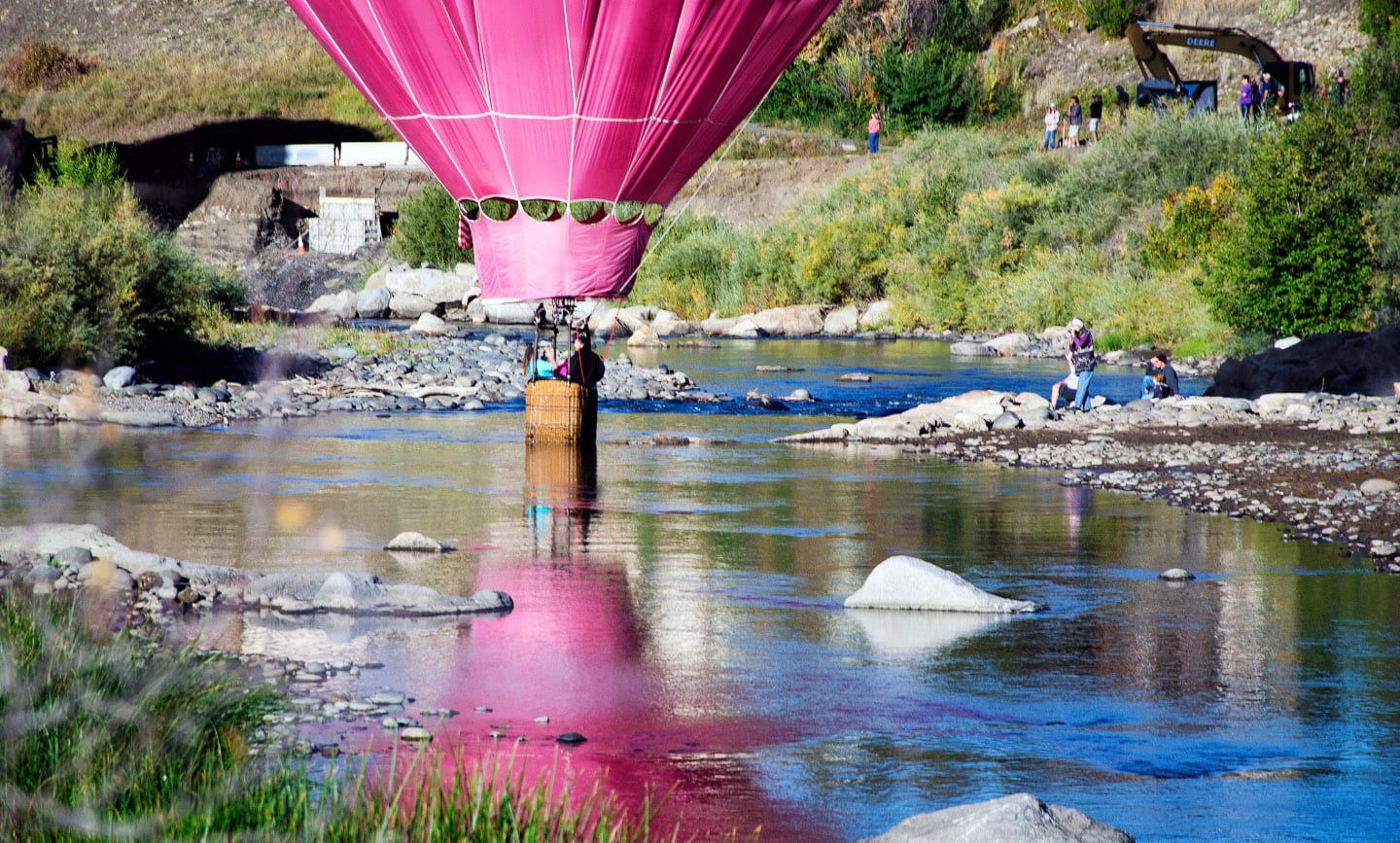 Colorado Travel Resources San Juan River Balloon