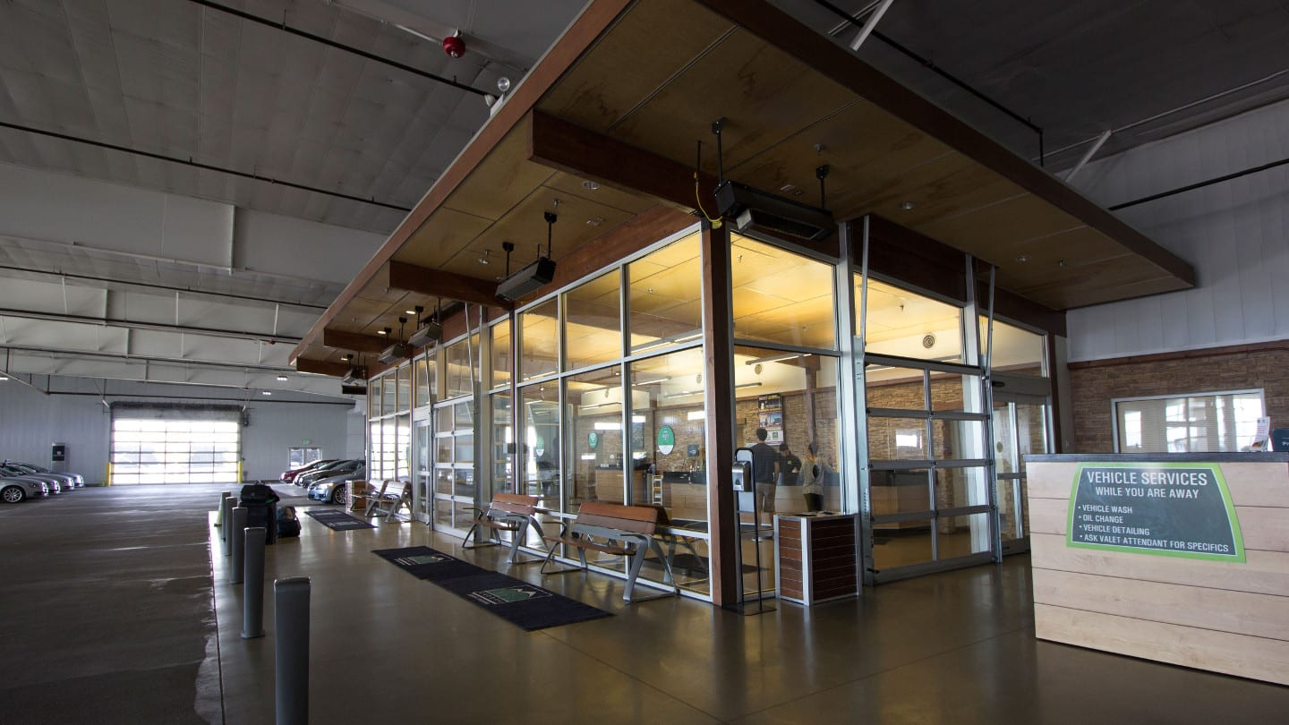 Canopy Airport Parking Denver Indoor Garage