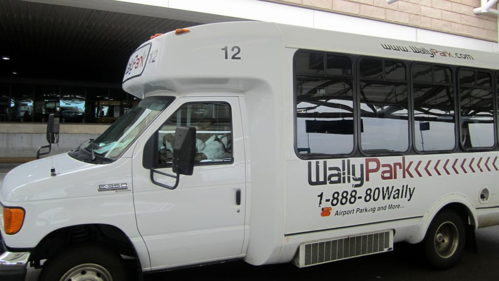 WallyPark Denver Airport Parking Shuttle