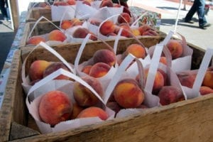 Old South Pearl Farmers Market Denver Peaches