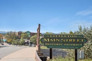 Littleton CO Neighborhood Historic Main Street Downtown