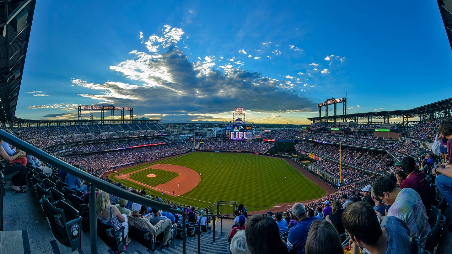 Coors Field Colorado Rockies Baseball Mile High Elevation