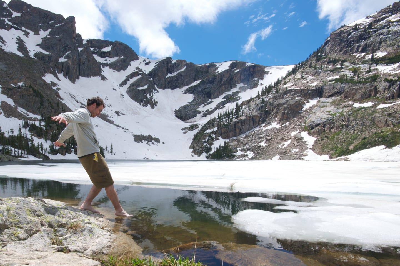 Multi-Day Hike Colorado Continental Divide Trail RMNP Lake Nokoni