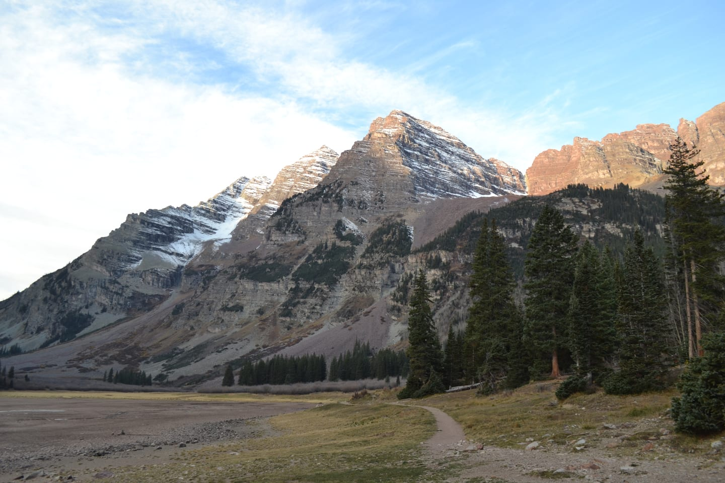 Multi Day Hike Aspen Colorado Maroon Bells Four Pass Loop