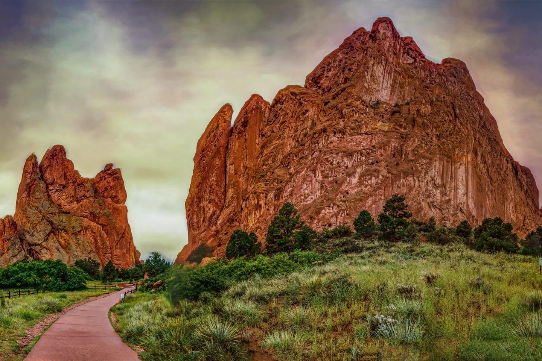 Natural Wonder Garden of the Gods Colorado Springs