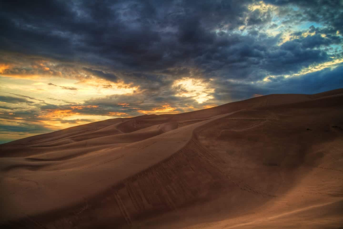 Natural Wonder Great Sand Dunes Colorado