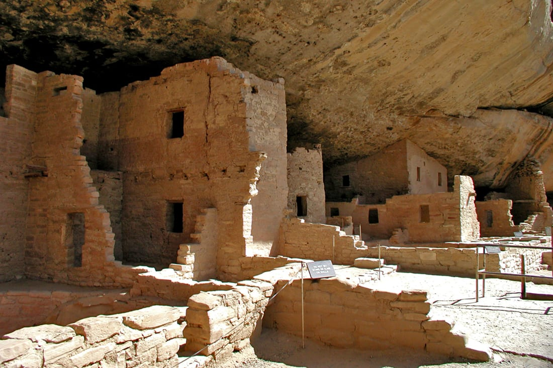 Natural Wonder Mesa Verde Colorado