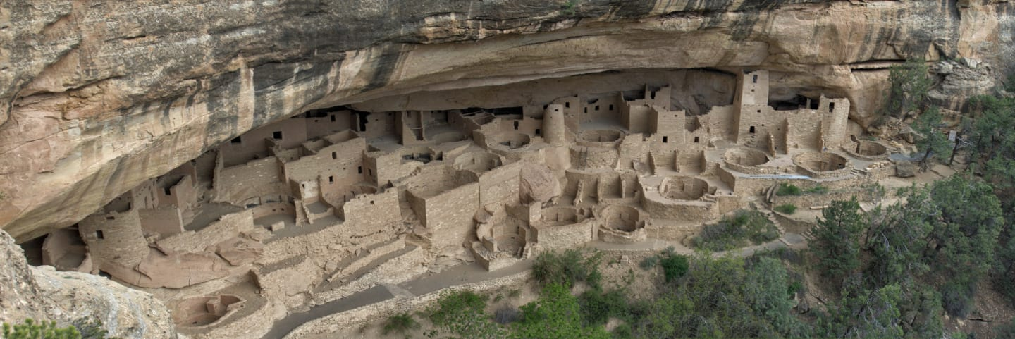Colorado Natural Wonder Mesa Verde Cliff Palace