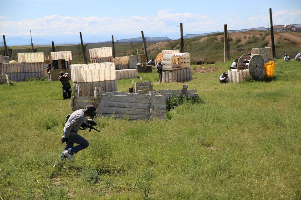 Dynamic Paintball Outdoor Field Denver