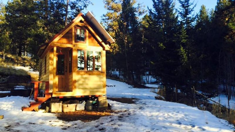 Tiny Home Colorado Off-Grid Living Solar