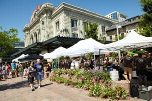 Union Station Farmers Market Denver