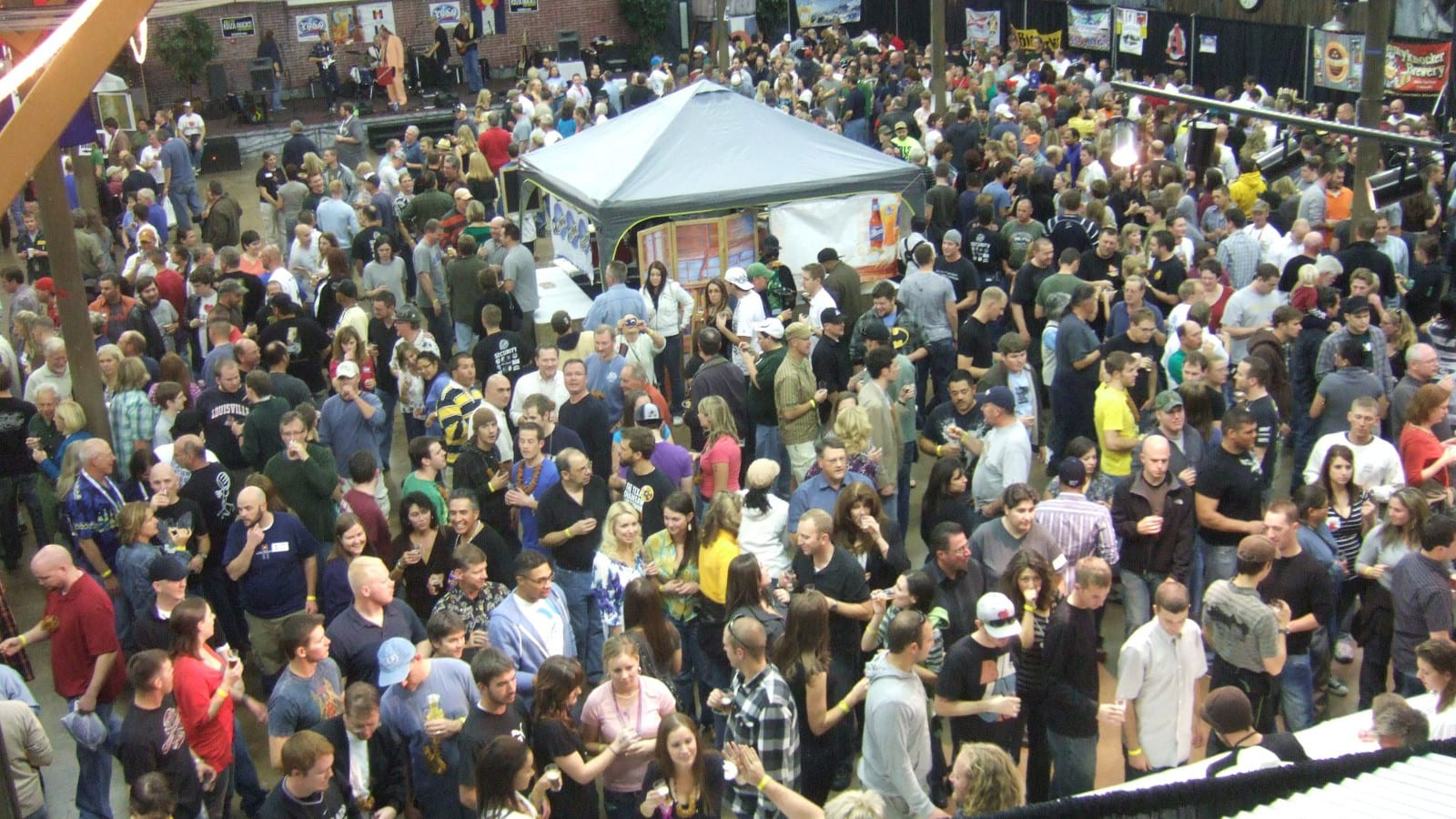 All Colorado Beer Festival Colorado Springs Aerial