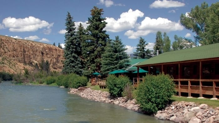 Antlers Rio Grande Lodge & Riverside Restaurant Creede