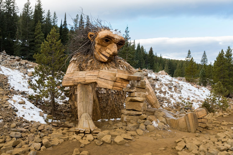 Breckenridge Troll Art Sculpture Colorado