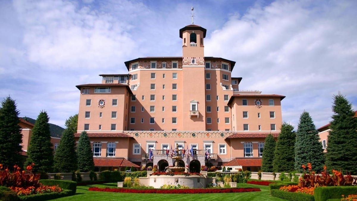 Broadmoor Hotel Colorado Springs