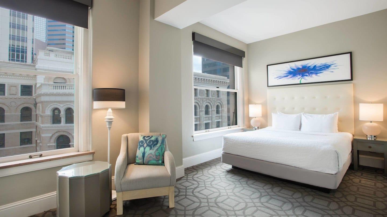 Magnolia Hotel Room Denver CO