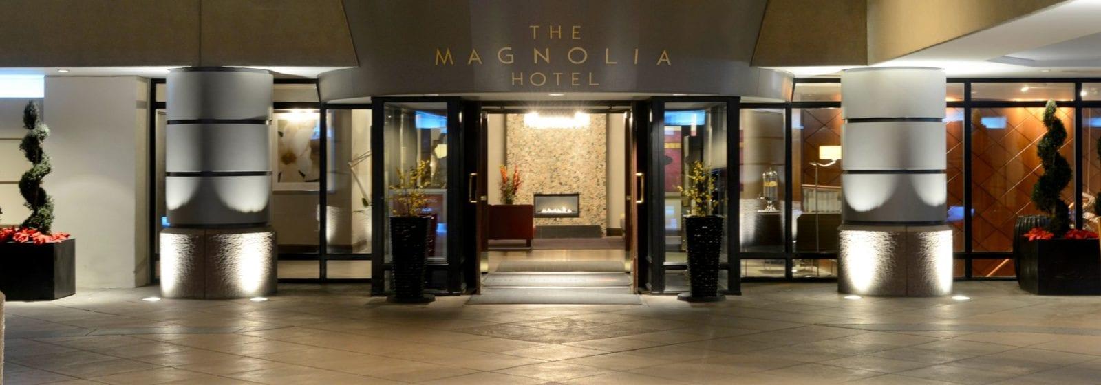 Magnolia Hotel Entrance Denver CO