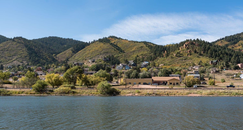Palmer Lake Colorado View of Town