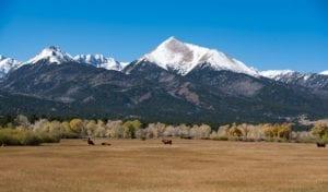 Sangre de Cristo Mountains Colorado