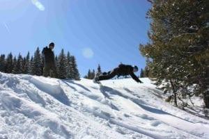 Vail Ski Resort Front Flip