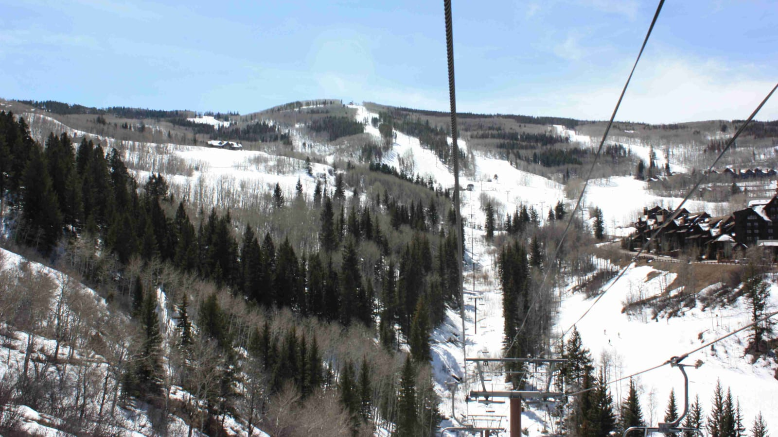 Beaver Creek Ski Resort Arrowhead Mountain Chairlift