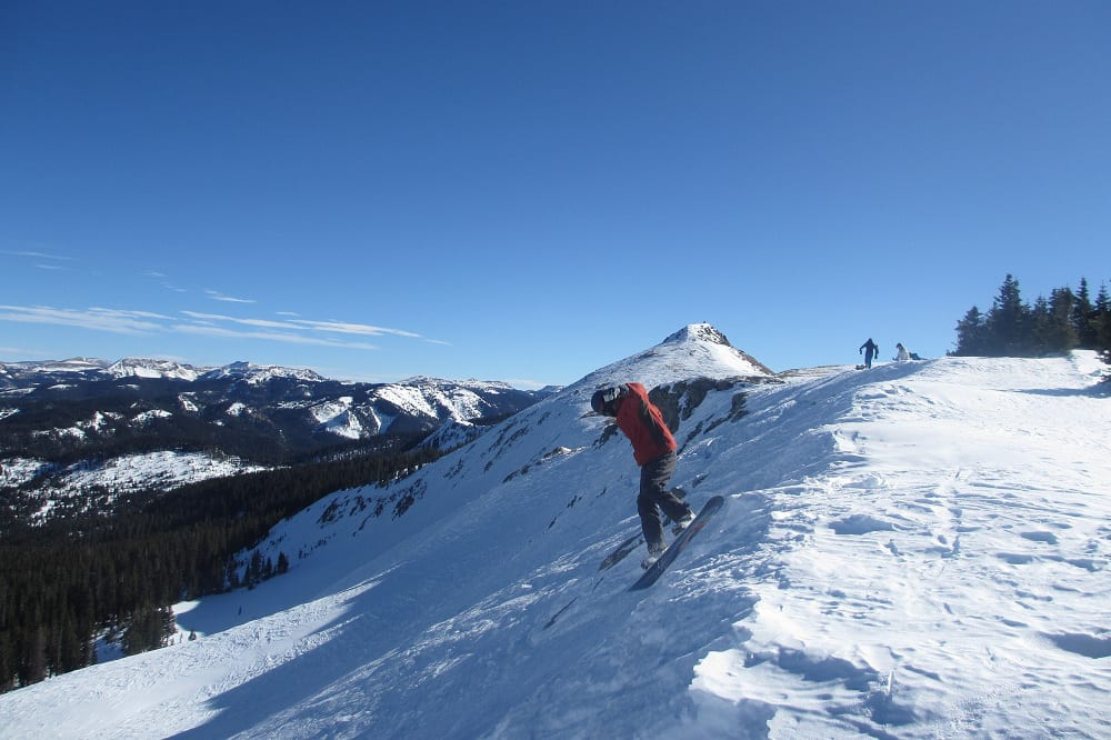 Wolf Creek Ski Area Cornice Air