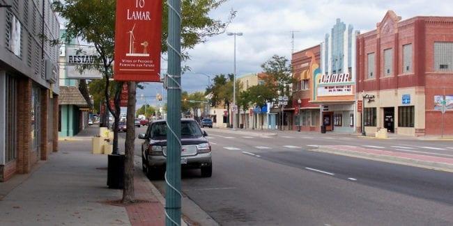 Downtown Lamar Colorado