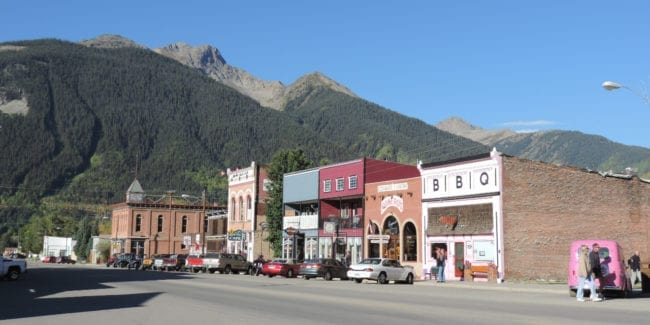 San Juan County CO Downtown Silverton