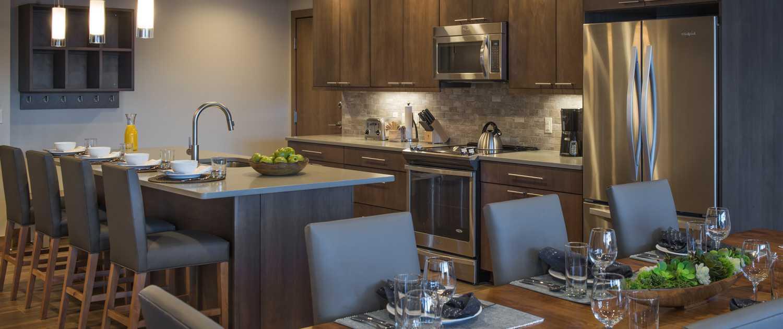 Grand Colorado on Peak 8 Suite Kitchen Breckenridge