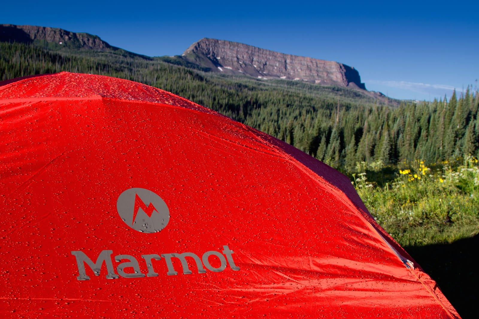 Tent Camping Marmot Mountain Mesa