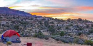 Backcountry Camping Southern Utah BLM Public Land